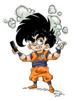 DAC - color Goku by ATLbladerunner
