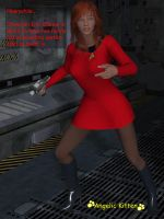 Star Trek - Crewman Erin O'Brien by Angelic-Kitten-Art