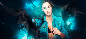 Megan Fox by thiagobarros
