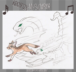 Krosfox Music Meme: Neithhotep by Dragon-of-Twilight