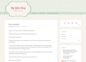 Free blogger template by TasnimEz