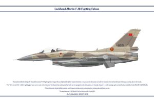 F-16 Morocco 1 by WS-Clave