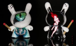 Cat's Eye Dunny -3D by Caen-N