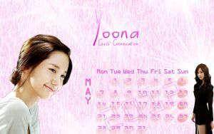 yoona calender by SNSDartwork