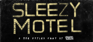 Sleezy Motel by GrahamPhisherDotCom