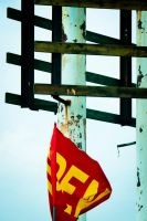 Red flag by Monque