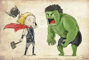 Hulk's BreaTHOR by alben