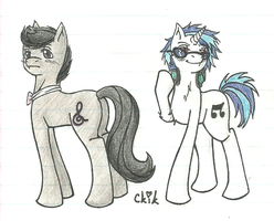 Scratch and Octavius by FanOfNaruto5