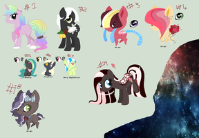 Another bunch of cast off's /LEALSOOPENHEHEXD/ by BluesStuff