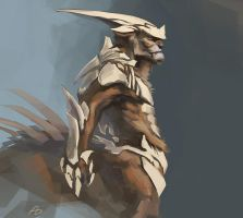 Armorbeast wip-1 by AnDary