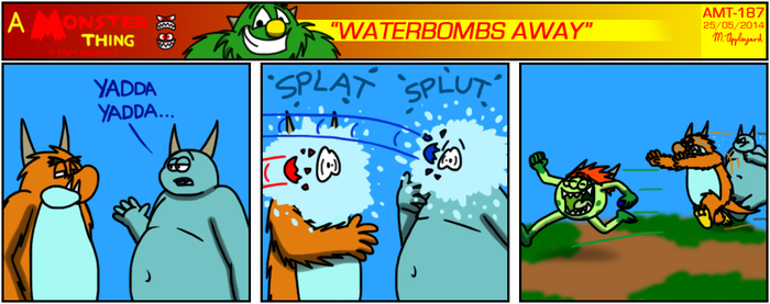 AMT - Waterbombs Away by BluebottleFlyer