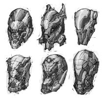 Mech Heads by ejdc