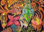 Psychedelic Scene by 13Sell
