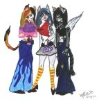 9 Lives band members by xx9-Livesxx