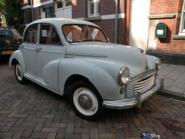 Morris Minor in Amsterdam by remmy77