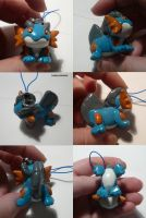Swampert Charm by ChibiSilverWings