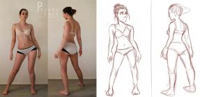 Character Design: Gesture Drawing by Tamaytka
