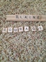 Blaine. Courage! by Sugerpie56