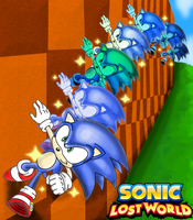 Wall Running - Sonic Lost World by Dbzbabe