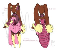 Lopunny West reference by Kisshu-Neko