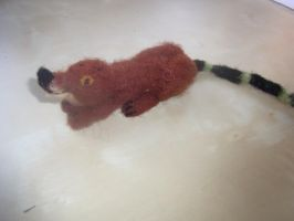 Needle felted Humplecrimp from the BFG movie by ArcticIceWolf