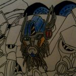 Ultra Magnus (face) by Bennett17