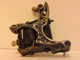 #2 carved tattoo machine by will1969