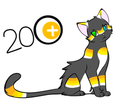 Cat adoptable CLOSED by Insane-Sanety