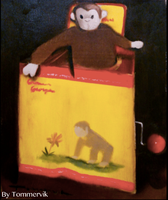 curious george jack in the box by TOMMERVIK