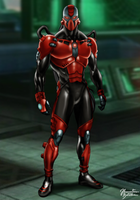Mortal Kombat: Sektor - Alternate Costume by JhonatasBatalha