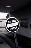 Do Not Enter by fallout75