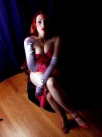 Jessica Rabbit in shadow by tarorae
