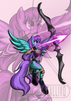 Amethyst Archer by Stallivo