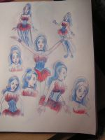 Chromaggia sketches by alice-addict