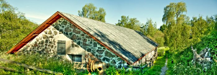 Mill in summer HDR by alelar