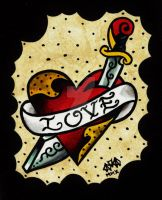 Traditional Love by Vicki-Death