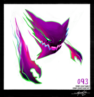 Haunter!  Pokemon One a Day! by BonnyJohn