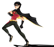 YJ :: The Boy Wonder by miunuu