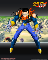 Super Android 17 SA17 by Seiya-Dbz-Fan