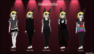 Alexia's Outfits by Spectra-Sky