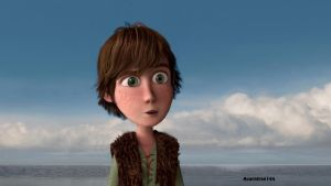 Baby Hiccup by acorntree144