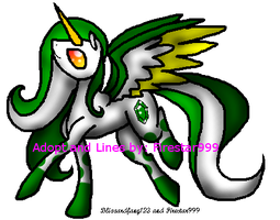 Emerald MLP Adopt (OPEN!) (Name Your Price) by Firestar999