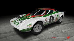 Lancia Stratos HF Stradale Rally Car by OutcastOne
