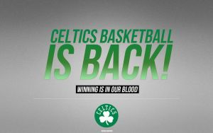 Boston Celtics Wallpaper by IshaanMishra
