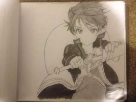 Kirito SAO (Unfinished-Work in progress) by WhayneyTan