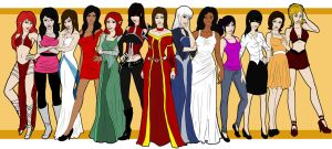 All the Ladies by melina678