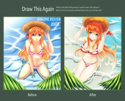 Draw this Again Challenge !! Bikini Fever Again !! by un4lord