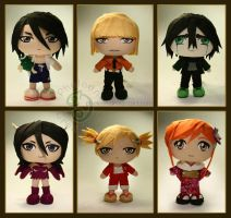 Bleach Chibis (1st edition) by pheleon
