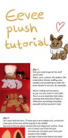 Eevee Plush Tutorial Pt.1 by Luminous-Luchador