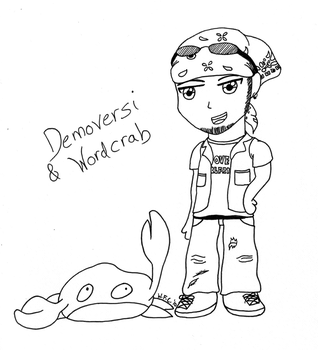 Demoversi and Wordcrab by WaitingForCoffee